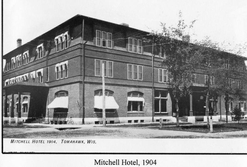 The Mitchell Hotel in Tomahawk