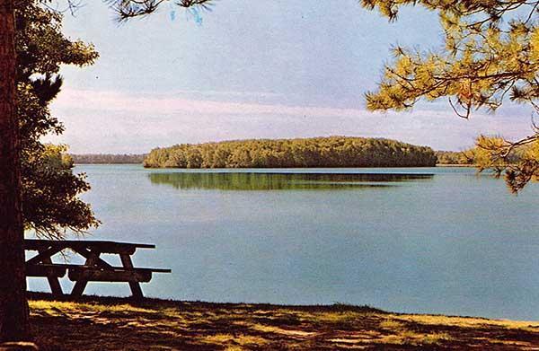 Strawberry Island in Lac du Flambeau