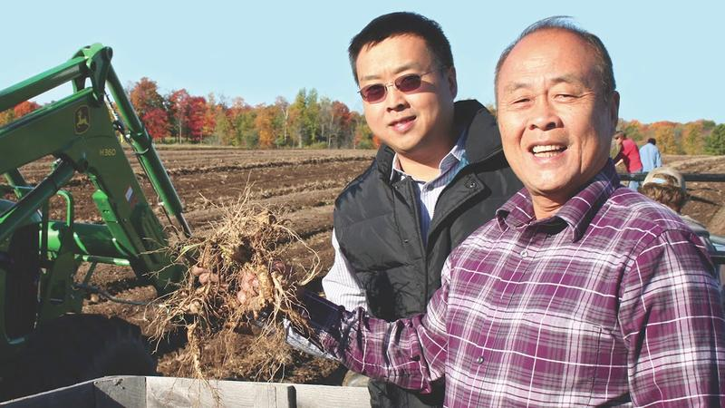 Will Hsu (left) and his father, Paul Hsu, were featured on Discover Wisconsin last summer.