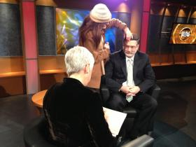 Cuomo's budget director Megna gets ready for interview