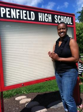 Quinisha Anderson, Former Urban-Suburban participant & graduate of Penfield High, Class of 2001