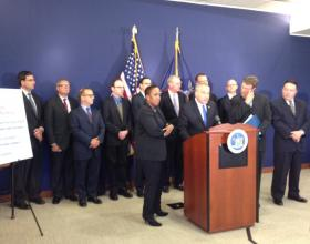 Comptroller Tom DiNapoli delivers report on private equity investment program, along with the investment managers