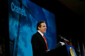 Governor Cuomo, at his State of the State speech January 8th