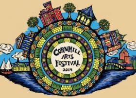 2014 Corn Hill Arts Festival Poster by artist Kat Patterson
