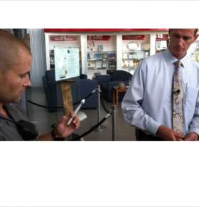 Officials demonstrate how naloxone is administered to reverse heroin or opioid overdoses
