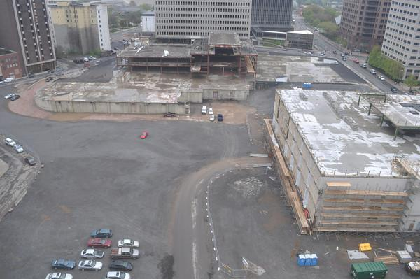 Midtown Rising project preparing for new construction in May 2012
