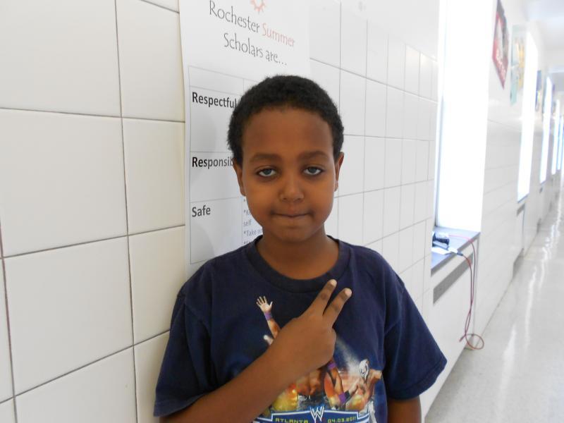 Student, Elias Tsegay