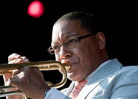 Grammy-winning musician and composer Wynton Marsalis