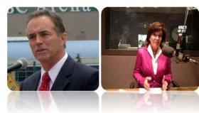Former Erie County Executive Chris Collins (R) and Congresswoman Kathy Hochul (D) debate tonight on WXXI-TV/HD and AM 1370.