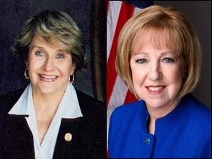 Congresswoman Louise Slaughter (D) and Monroe County Executive Maggie Brooks (R) head to Friday's Voice of the Voter debate separated by 5 percentage points.