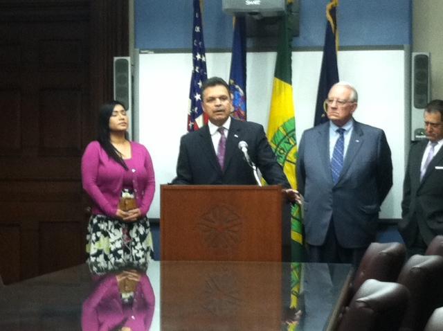 Assemblyman Felix Ortiz at Rochester City Hall