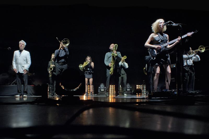 David Byrne & St. Vincent peform at Kodak Hall