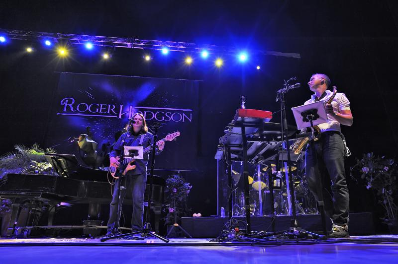 Roger Hodgson and his band headlined the night at Kodak Hall