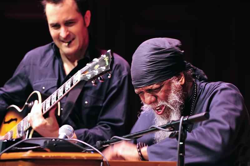 Dr. Lonnie Smith Trio headlined Kibourn Hall