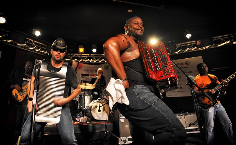 Dwayne Dopsie & The Zydeco Hellraisers rock the stage at Montage