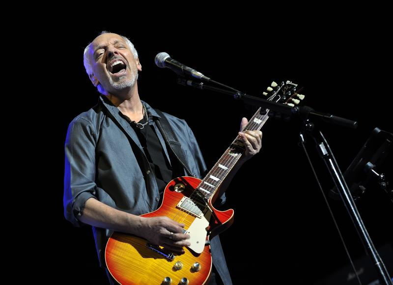 Peter Frampton headlined Kodak Hall on Friday Night