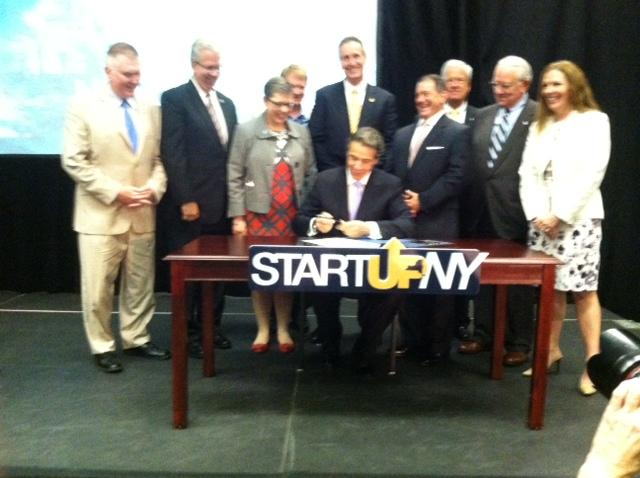 Governor Cuomo at MCC for bill signing ceremony
