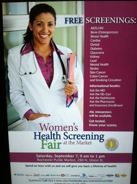Women's Health Screening Fair