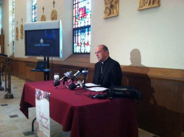 Bishop Robert Cunningham kicks of Catholic Ministries Appeal