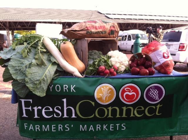 Healthy foods available through FreschConnect Checks