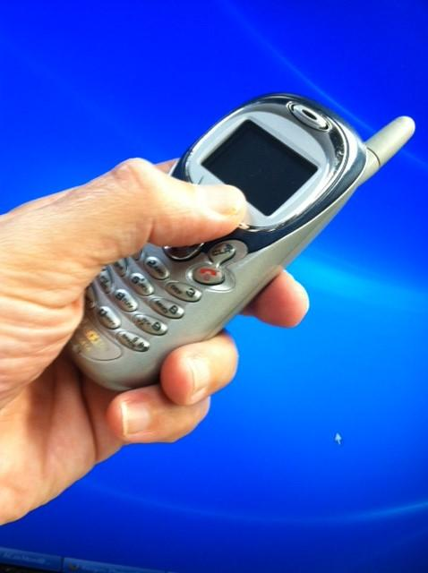 That old cell phone could be a life saver