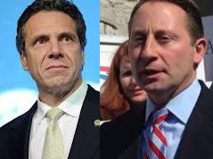 Gov. Andrew Cuomo and (R) Rob Astorino