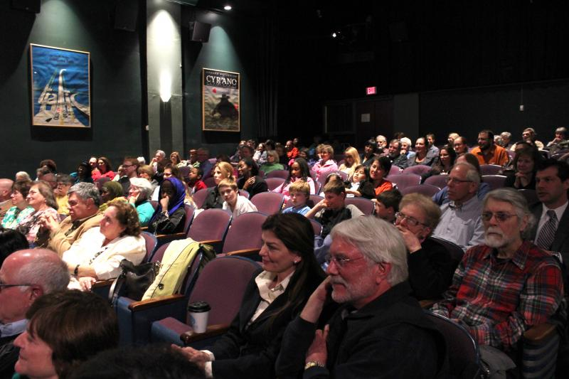 """Little Theatre 1 was packed for the """"Schools for South Sudan"""" screening"""