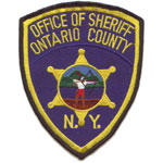 Ontario County Sheriff patch