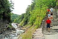 Letchworth Lower Falls Trails