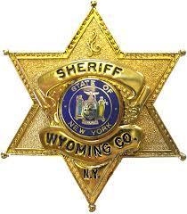 Wyoming County Sheriff badge