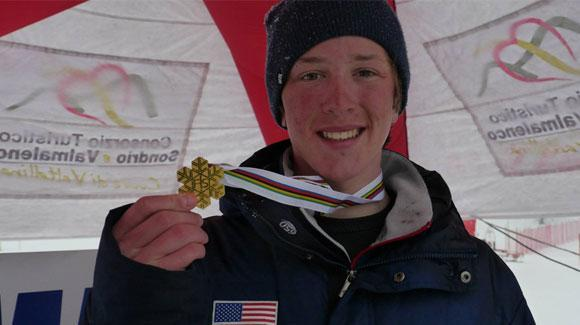Harrison Smith jumped to impress in his first year on the U.S. Freestyle aerials team. (FIS Freestyle)