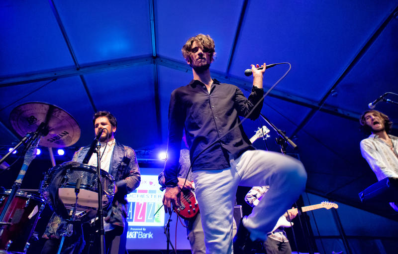 EMEFE rocked the Big Tent on Thursday. They'll also perform on Friday at Montage.
