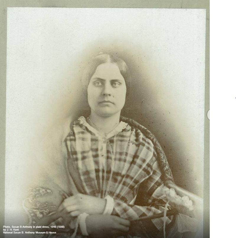 Susan B. Anthony in her 20s