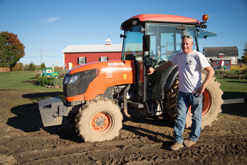 "Bill Wickham, 51, owner of Wickham Farms in Penfield, believes raising the minimum wage would have major effects on society by displacing many people in the workforce. Wickham wonders: ""If you're getting paid more, but there's no job ... who really won?"""