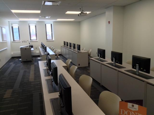 Here's a look inside of the new Downtown Campus: