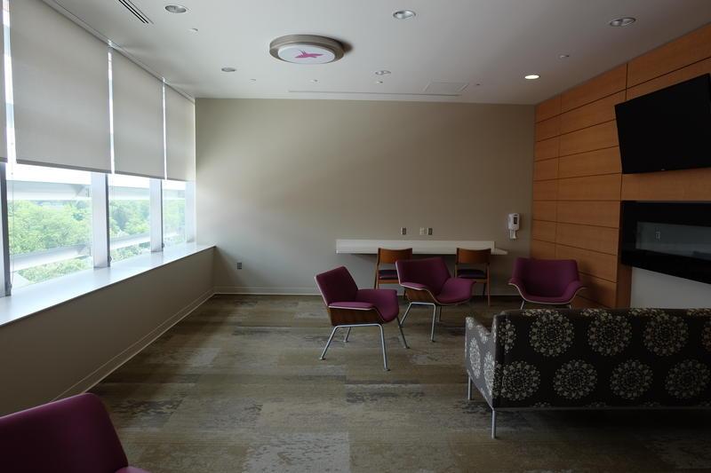 Pediatric Intensive Care Unit waiting room