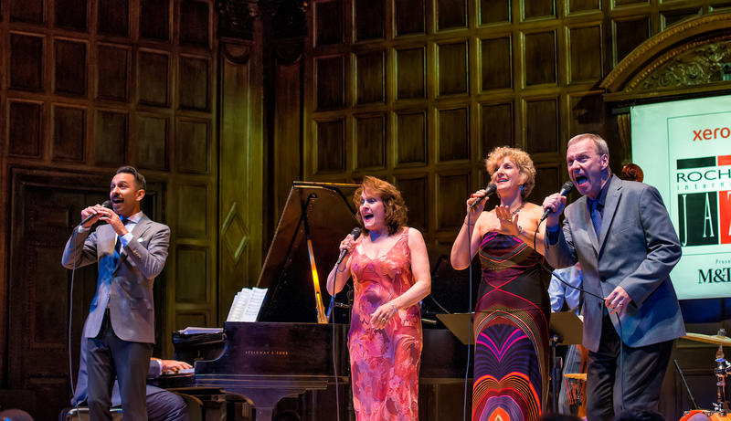 The Royal Bopsters were on stage at Kilbourn Hall.