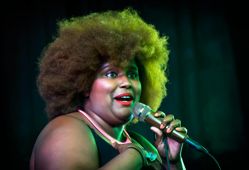 Harro East Ballroom hosted The Suffers Thursday during the Jazz Festival.