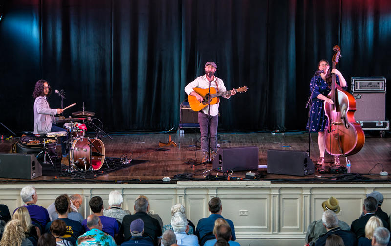 Boston-based Cold Chocolate were the featured performers at Harro East Ballroom.