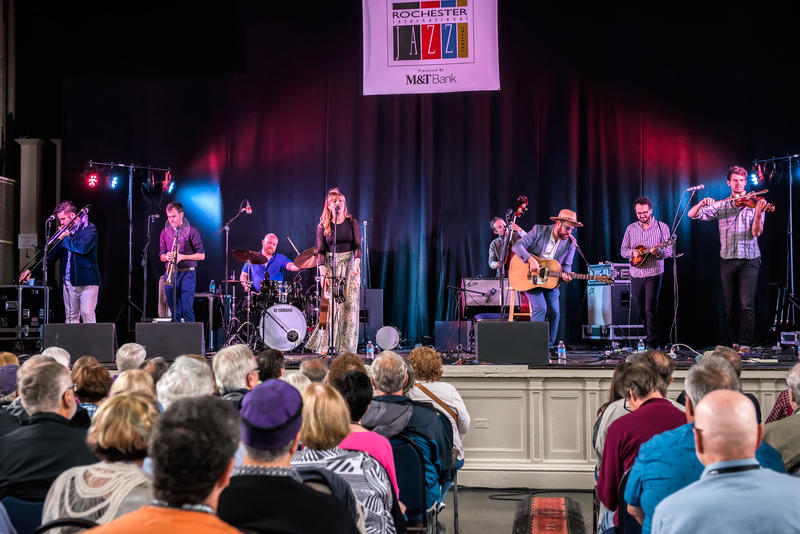Americana was on tap with Dustbowl Revival at Harro East Ballroom.