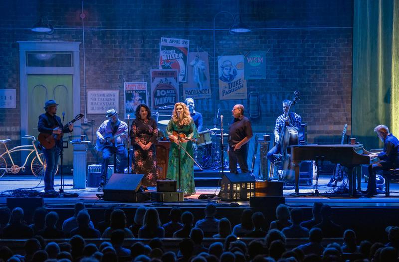Allison Krauss was the headline performer at Kodak Hall on Wednesday night.