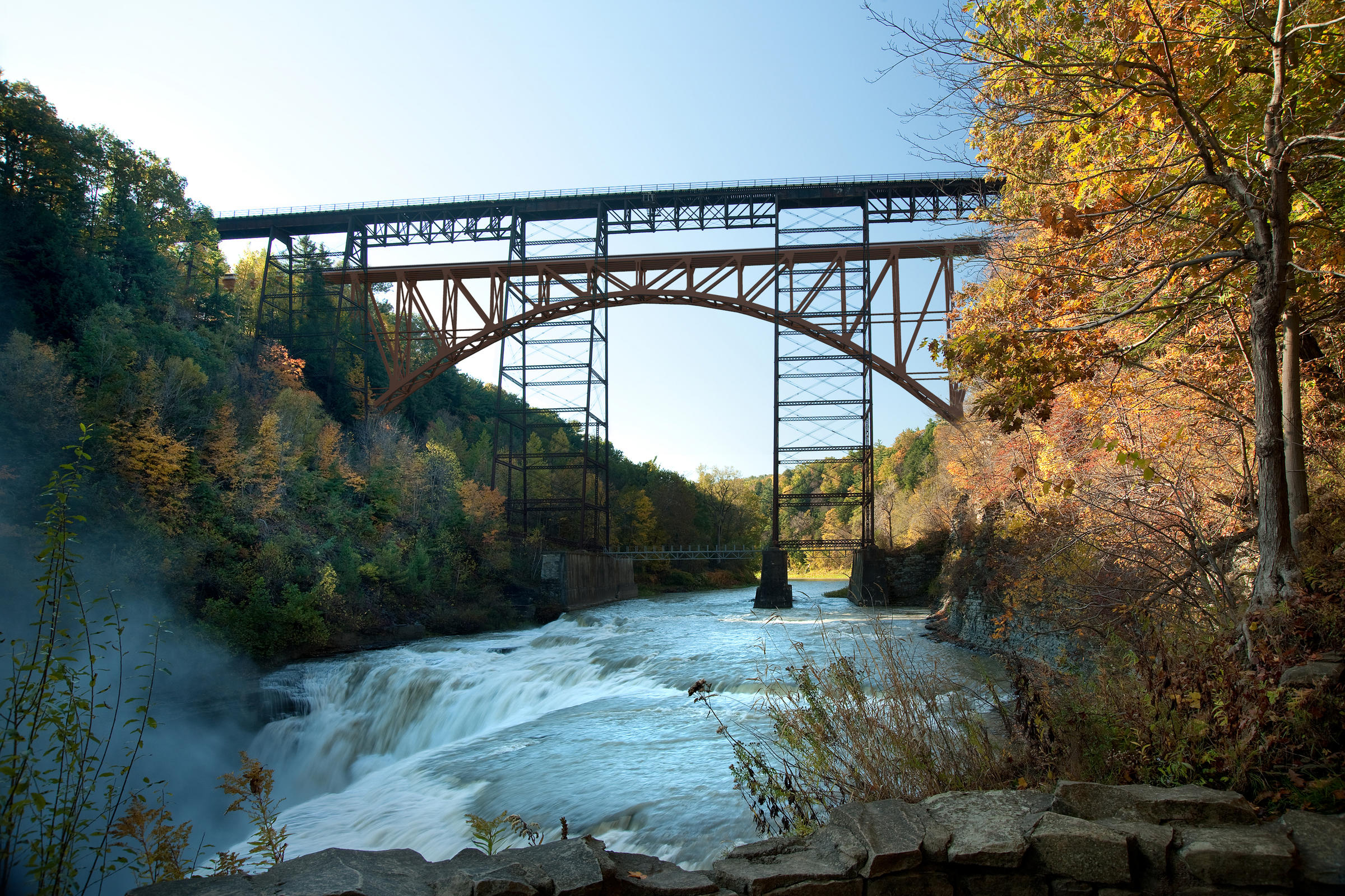 Construction To Start On Letchworth Railroad Bridge Wxxi