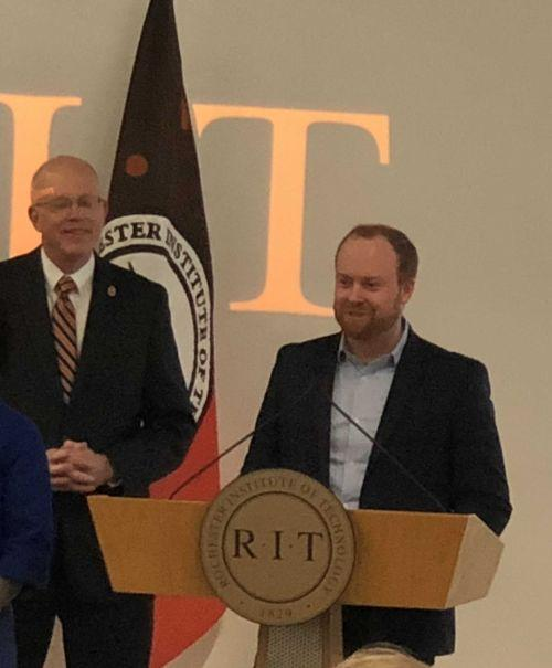 Alumnus donates $50 million to RIT in largest gift in school history