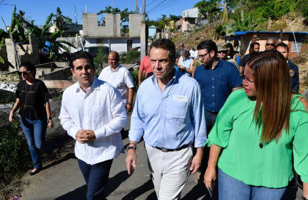Governor Cuomo makes third visit to Puerto Rico since hurricane
