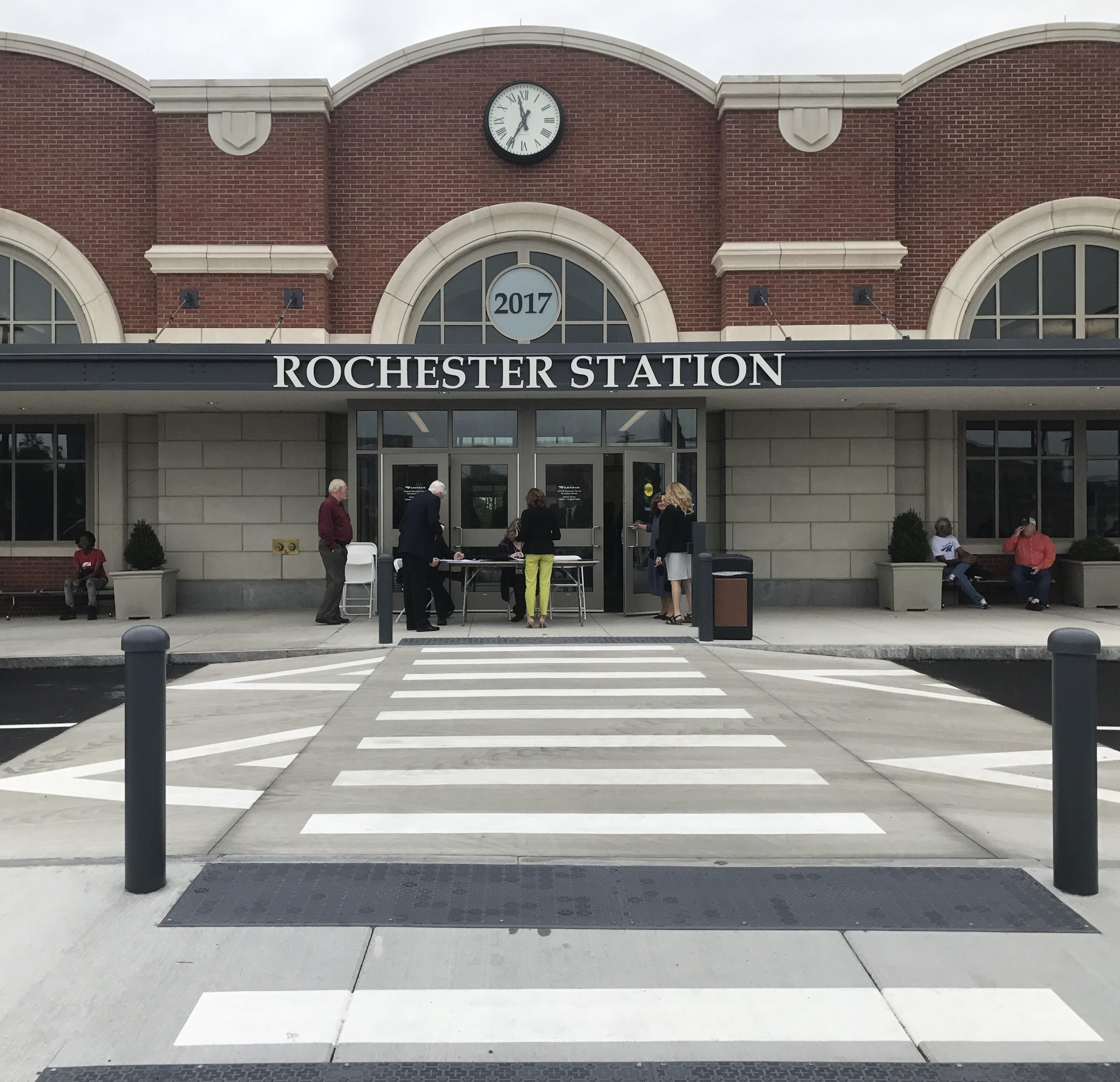 Amtrak to rename Rochester train station in honor of Rep. Louise Slaughter