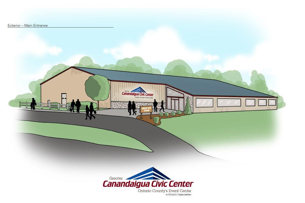 Fundraising begins for expanded Greater Canandaigua Civic Center