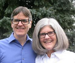 Hosts Pete and Nancy Torpey