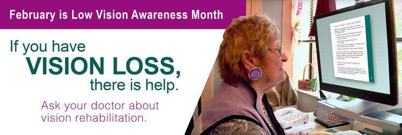 b3030e91b29c February is Low Vision Awareness Month - find resources