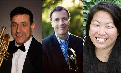 David Bamonte, trumpet; Mark Kellogg, trombone; Priscilla Yuen, piano (Brass Music that Tells a Story, March 22nd)