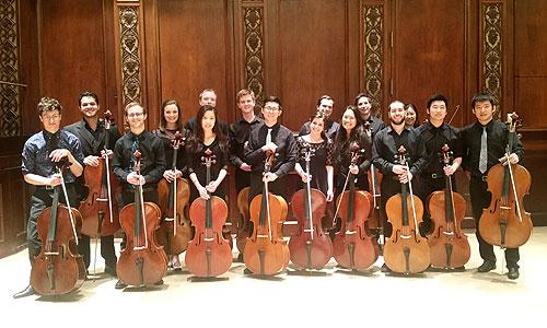 Eastman Cello Ensemble (New Music for Many Cellos, May 10th)